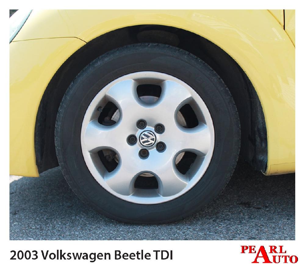 2003 Volkswagen Beetle TDI Related Infomation
